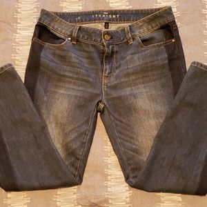 Sz 6 straight cropped jeans
